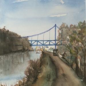Hängebrücke Hamm verkauft